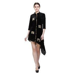 Ladies Designer Black Tops