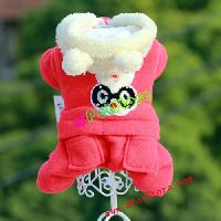 Winter Jimmy Cartoon Large Rabbit Dog Coat