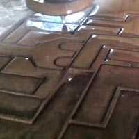 Carbon Steel Waterjet Profile Cutting Services