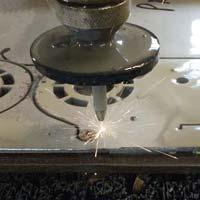 titanium water jet profile cut parts