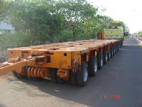 Two Wheeler Hydraulic Modular Trailer