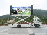 Truck Mounted LED Display
