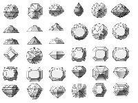 gemstone cut stone