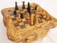 Carved Wooden Chess Sets
