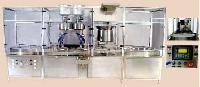 Automatic Double Wheel Single Track Inject able Powder Filling Machine