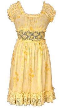 Chiffon Baby Doll Dress