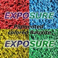 Colored Bauxite Aggregate