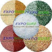 Exposure Overseas Offers Ultra Fine Colored Quartz Sand Terrazzo