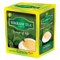 Premium Green Tea Box