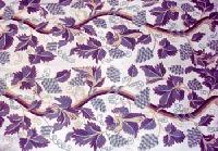 Crewel Embroidered Fabric -cf - 01