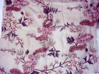 crewel embroidered fabric- CF - 02