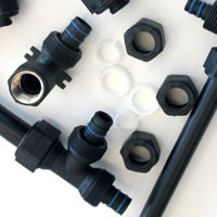 Plastic Compression Fittings For Mlc Pipes