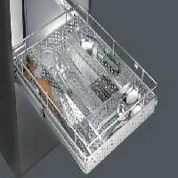 Stainless Steel Perforated Cutlery Basket
