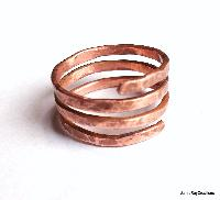 Forged Copper Ring