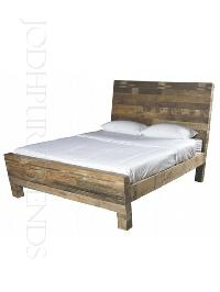Rustic Reclaimed Bed