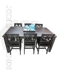 Walnut Eight Seater Dining Set