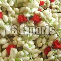 White & Red Jasmine Flower Strings