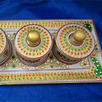 Marble Dry Fruit Boxes