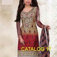 Catalog17 Vintage Georgette Salwar Kameez