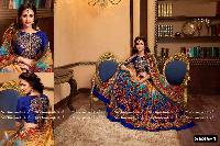 Digital Print Lehenga With Embroidered Blouse