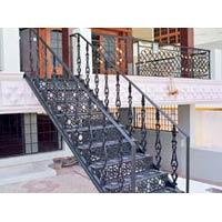 Iron Staircase Fabrication