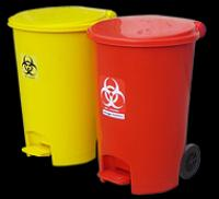 2 Wheeled Dustbin Plastic