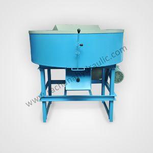 Pan Mixer Machine with Blade