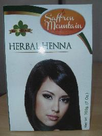Saffron Mountain - Natural Herbal Henna Powder