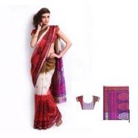 Net Printed Saree
