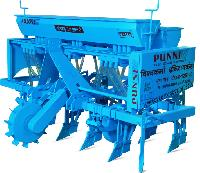 Seed Cum Fertilizer Drill Machine