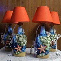 Indian Handicrafts Finished Lamp Shade