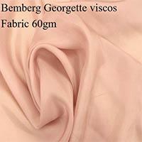 Bemberg Georgette Viscose Fabric (60gm)