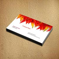 Premium Business Cards One Side Printing