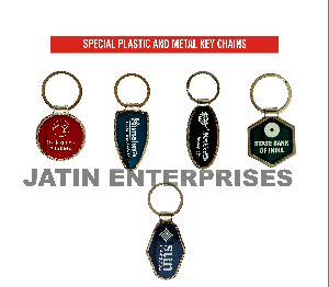 Special Plastic And Metal Keychains