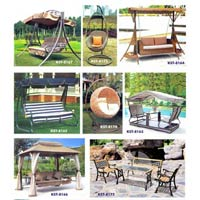Outdoor Swings And Benches