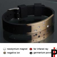 Gold and Silicone Bracelets