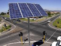 Traffic Solar Lights