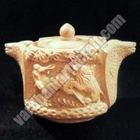 Wooden Snake Box