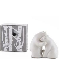 Ceramic Bear Salt Pepper Shakers Gift Box