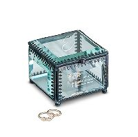 Glass Jewelry Box