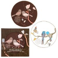 Love Birds Coaster Gift Set