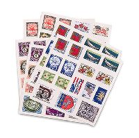 Postage Stamp Sticker Assortment