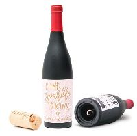 Wine Bottle Shaped Corkscrew Gift Box