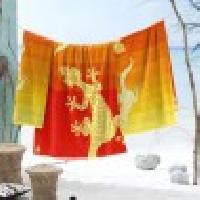 Seahorse Gekko Beach Towel