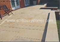Sandstone Paving Fossil Buff