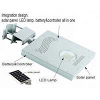 Integrated Solar Street Light