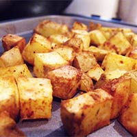 Potato Cubes