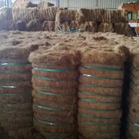 Golden Brown Coconut Coir Fiber