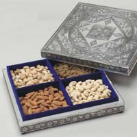 Square Shaped Dry Fruit Box
