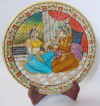 Hand Painted Marble Plate